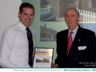 Peterborough Development and Environment Awards Finalist 2014
